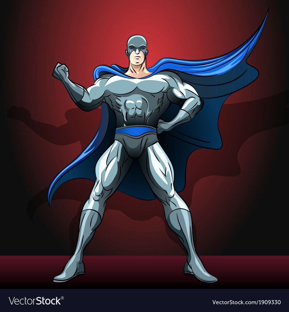 The superhero vector | Price: 3 Credit (USD $3)