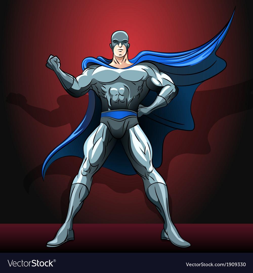 The superhero vector | Price: 3 Credit (USD $3)