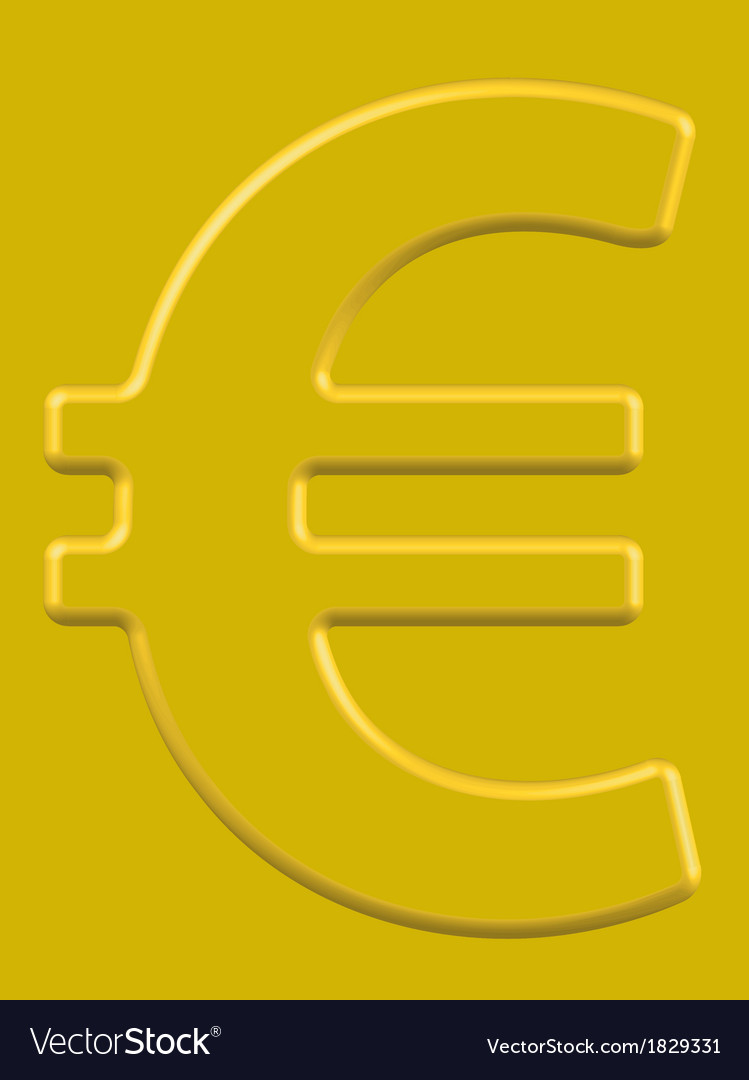 Euro vector   Price: 1 Credit (USD $1)