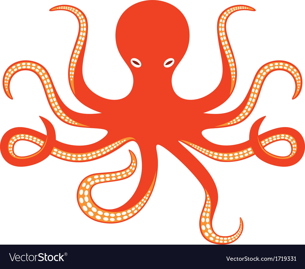 Octopus ocean vector | Price: 1 Credit (USD $1)