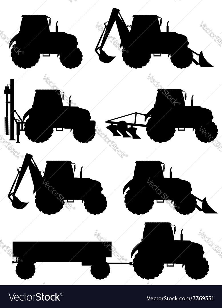 Tractor 09 vector | Price: 1 Credit (USD $1)