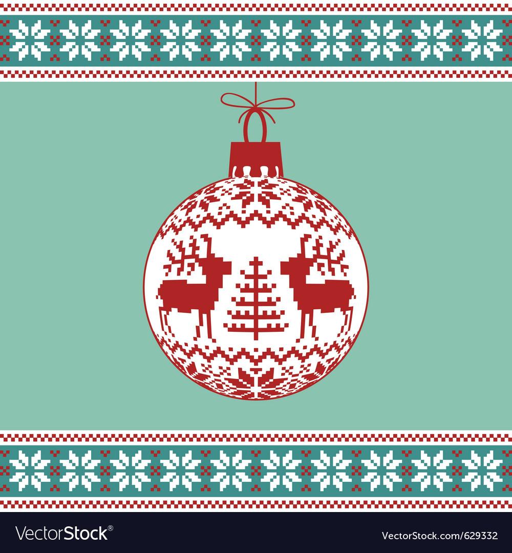 Christmas ball vector | Price: 1 Credit (USD $1)