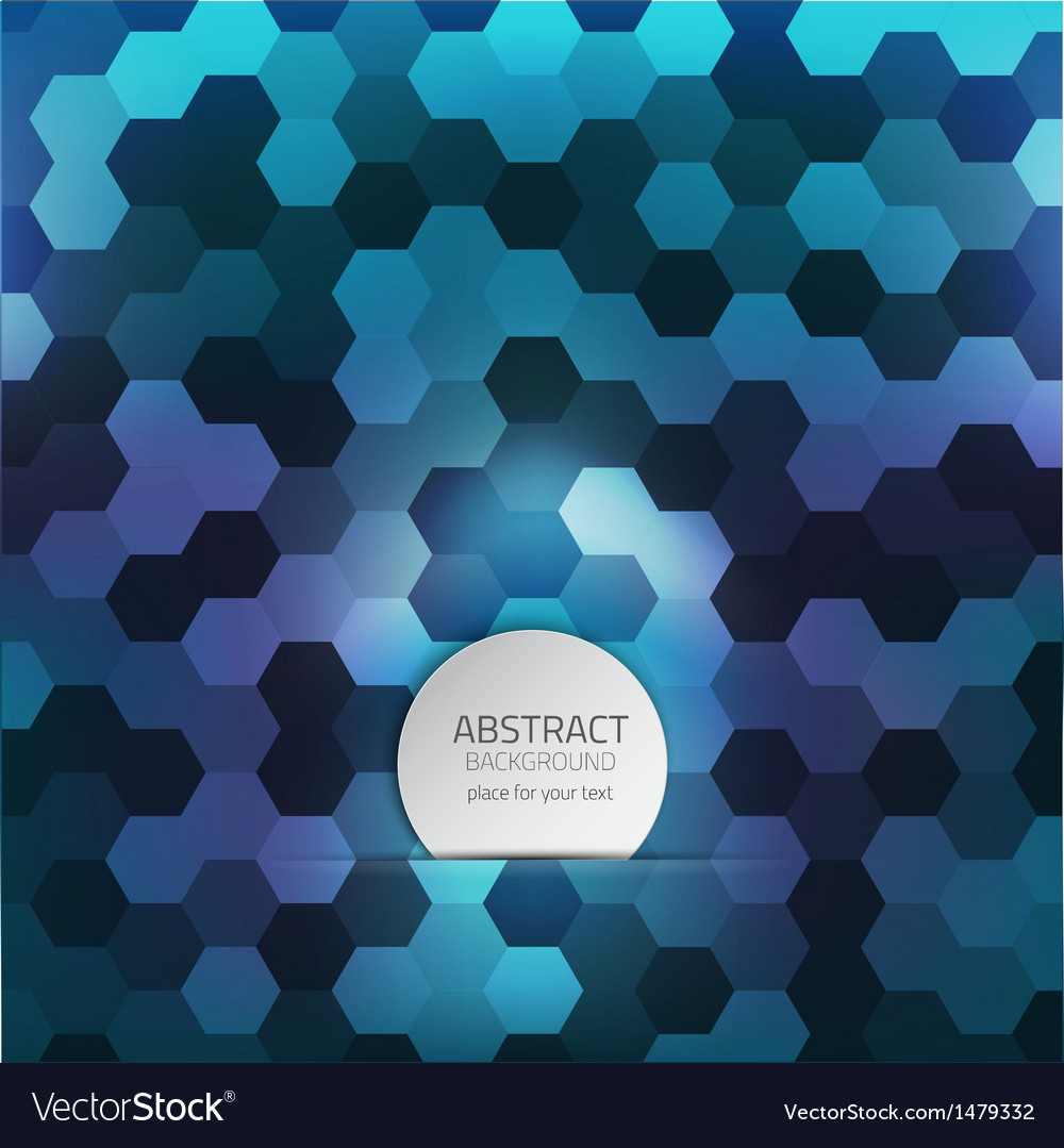 Hexagon background 2 vector | Price: 1 Credit (USD $1)