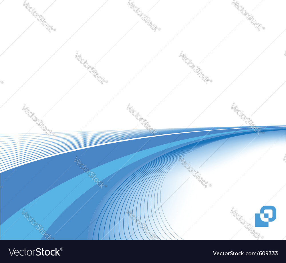 Blue business background template vector | Price: 1 Credit (USD $1)