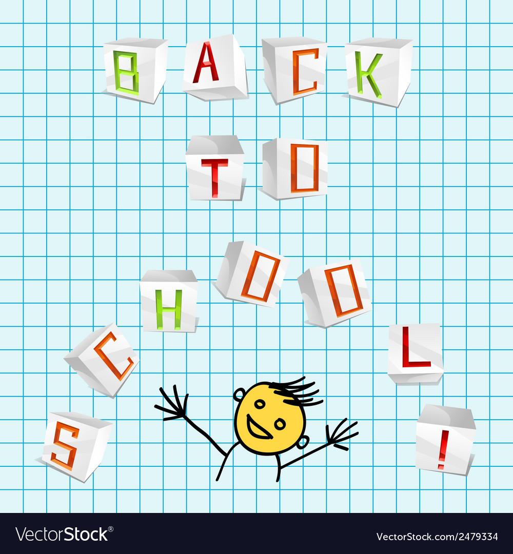 Back to school - vector | Price: 1 Credit (USD $1)
