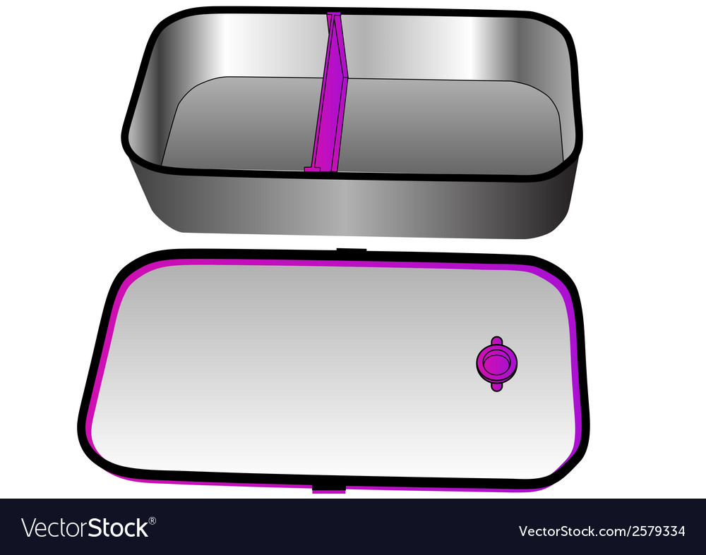 Lunch box vector | Price: 1 Credit (USD $1)