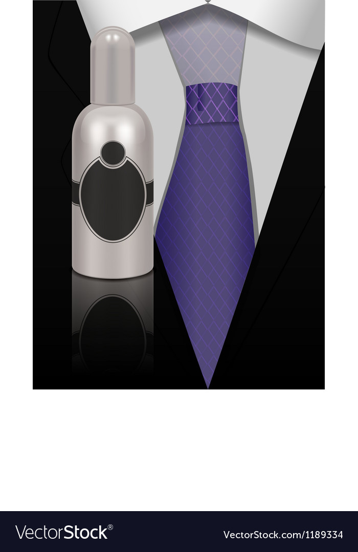 Perfume for men vector | Price: 1 Credit (USD $1)