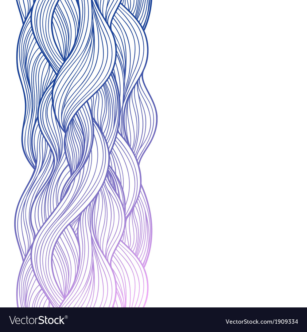 Purple abstract waves background vector | Price: 1 Credit (USD $1)