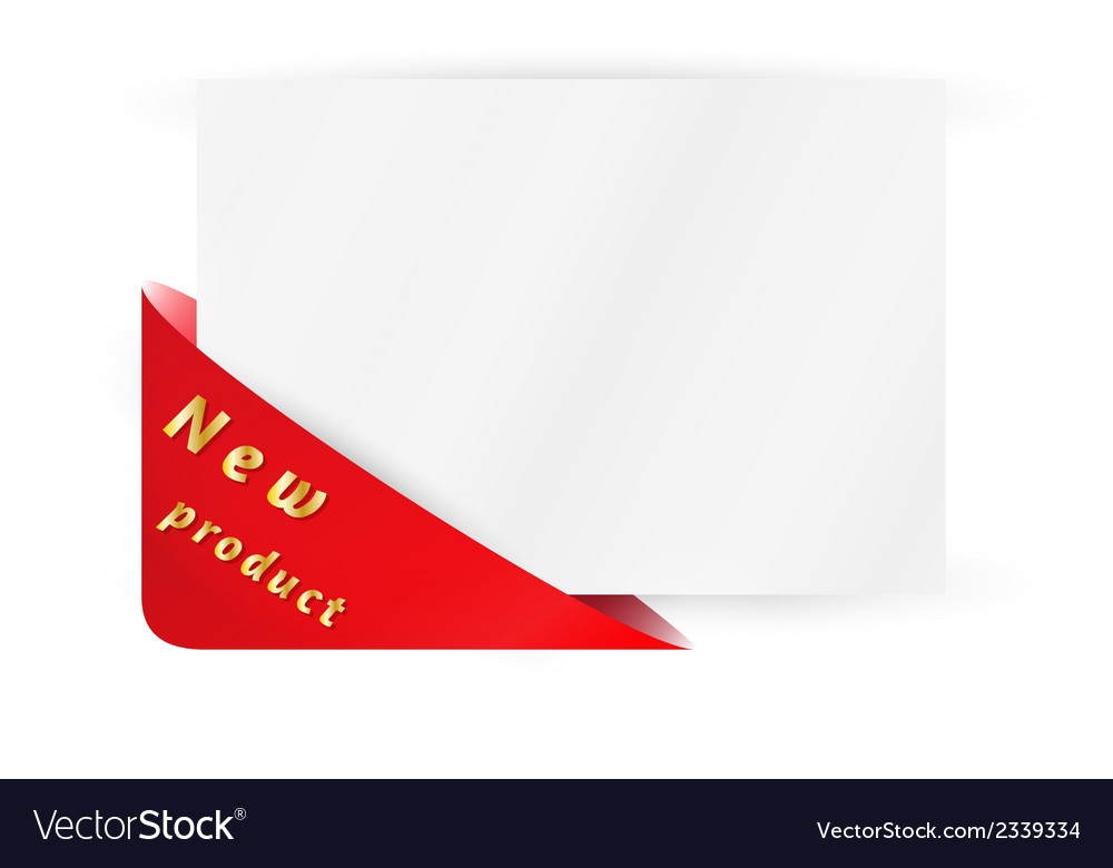 Triangle pocket with new product vector | Price: 1 Credit (USD $1)