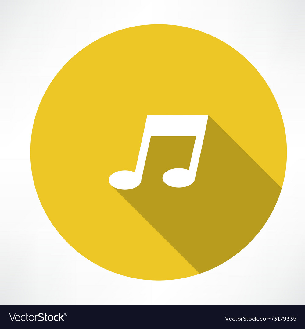 Melody icon vector | Price: 1 Credit (USD $1)
