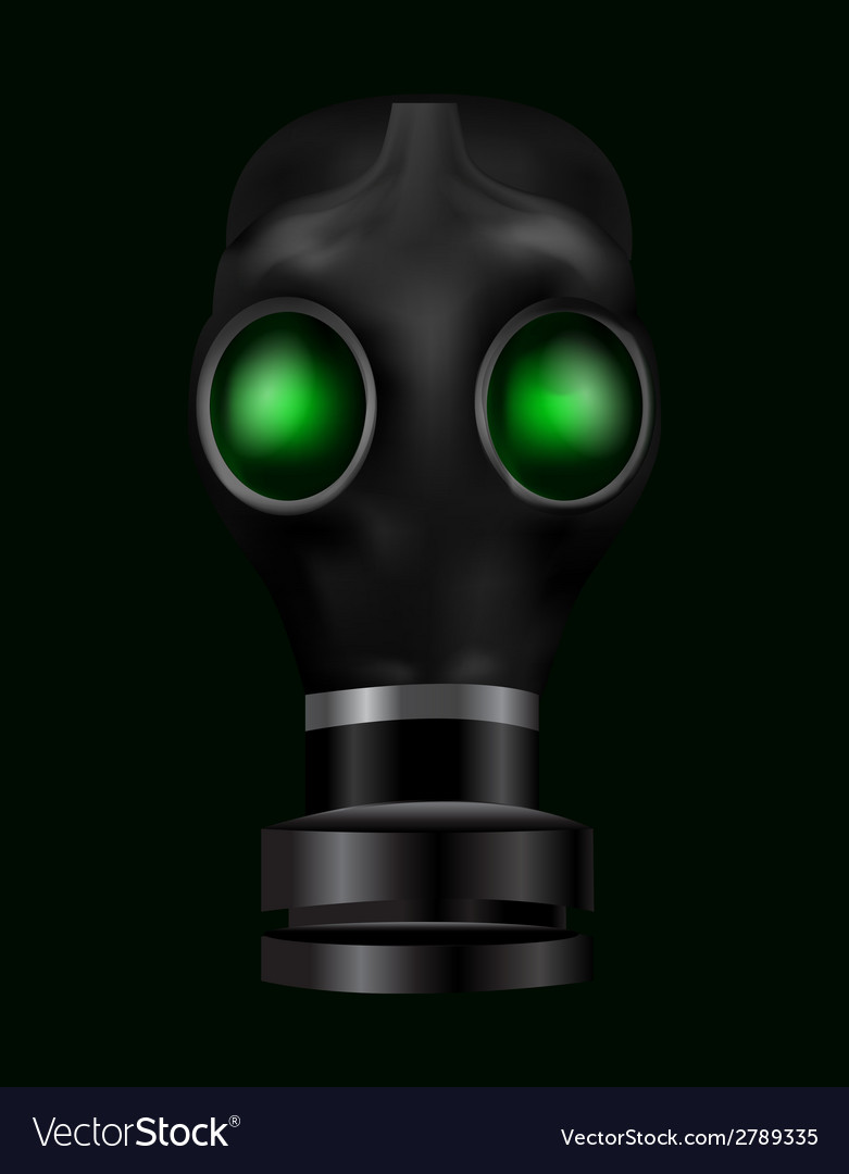 Realistic gas mask vector | Price: 1 Credit (USD $1)