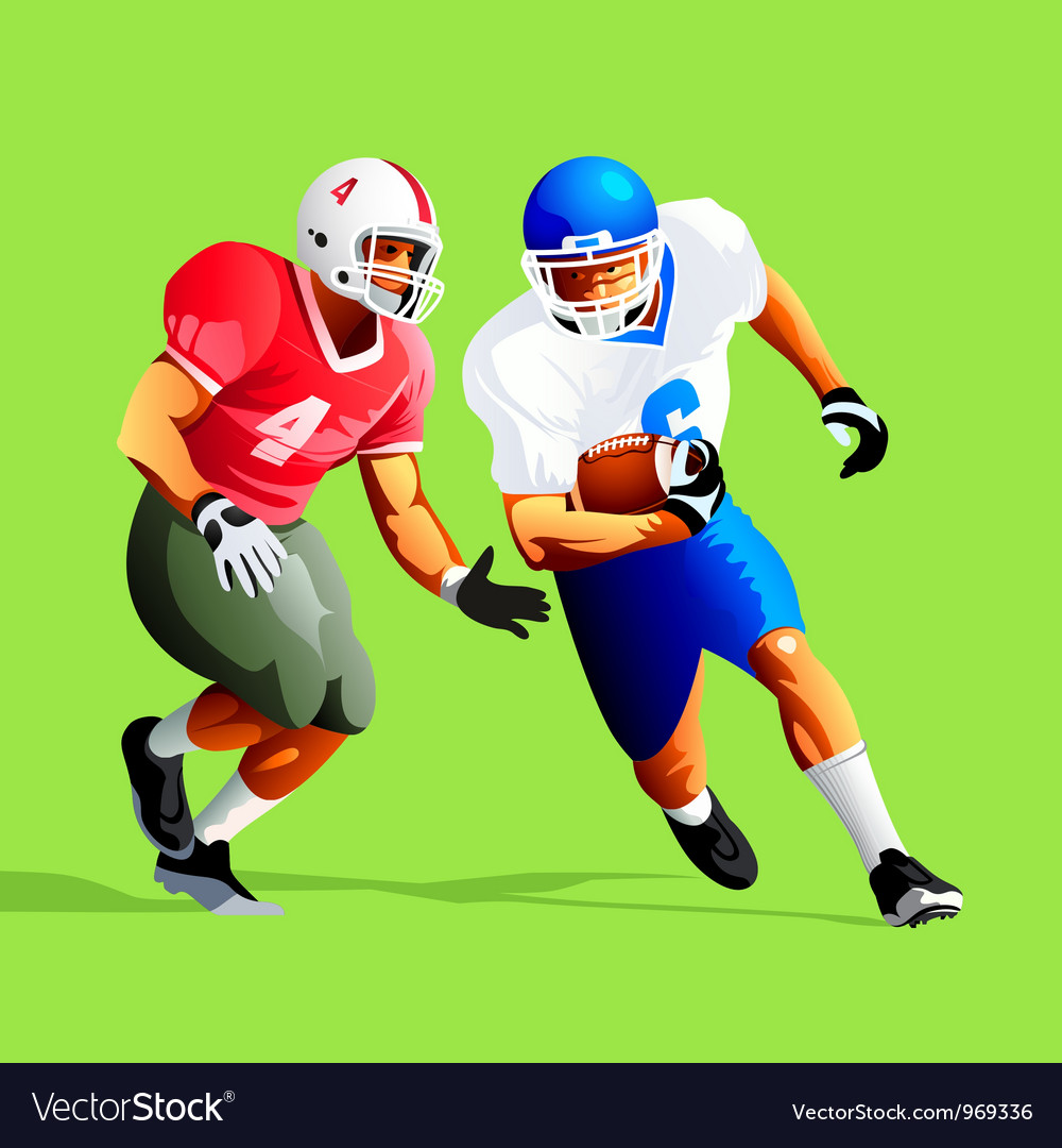 American football vector | Price: 3 Credit (USD $3)