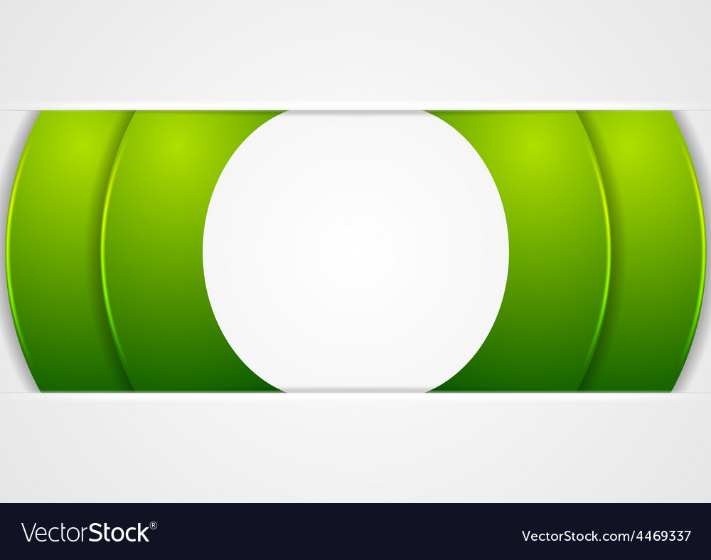 Bright green abstract corporate background vector | Price: 1 Credit (USD $1)