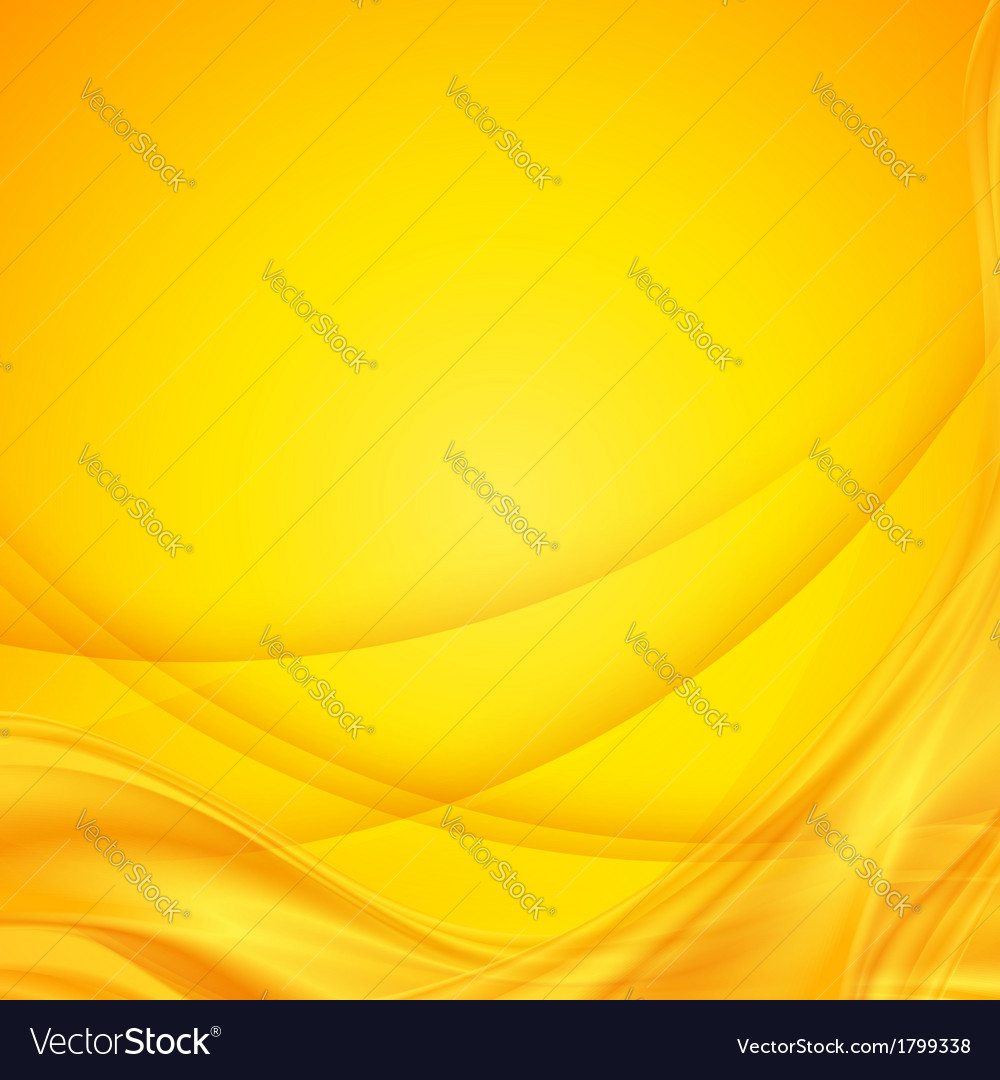 Abstract shining yellow wavy background vector   Price: 1 Credit (USD $1)