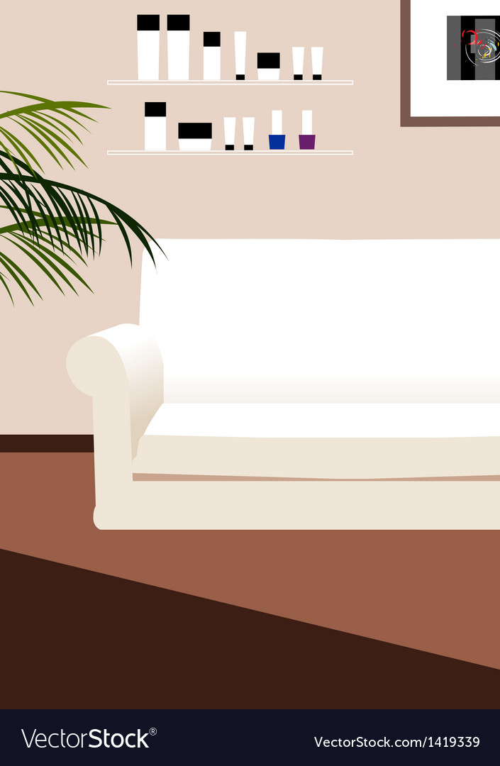 Coach lounge background vector | Price: 1 Credit (USD $1)