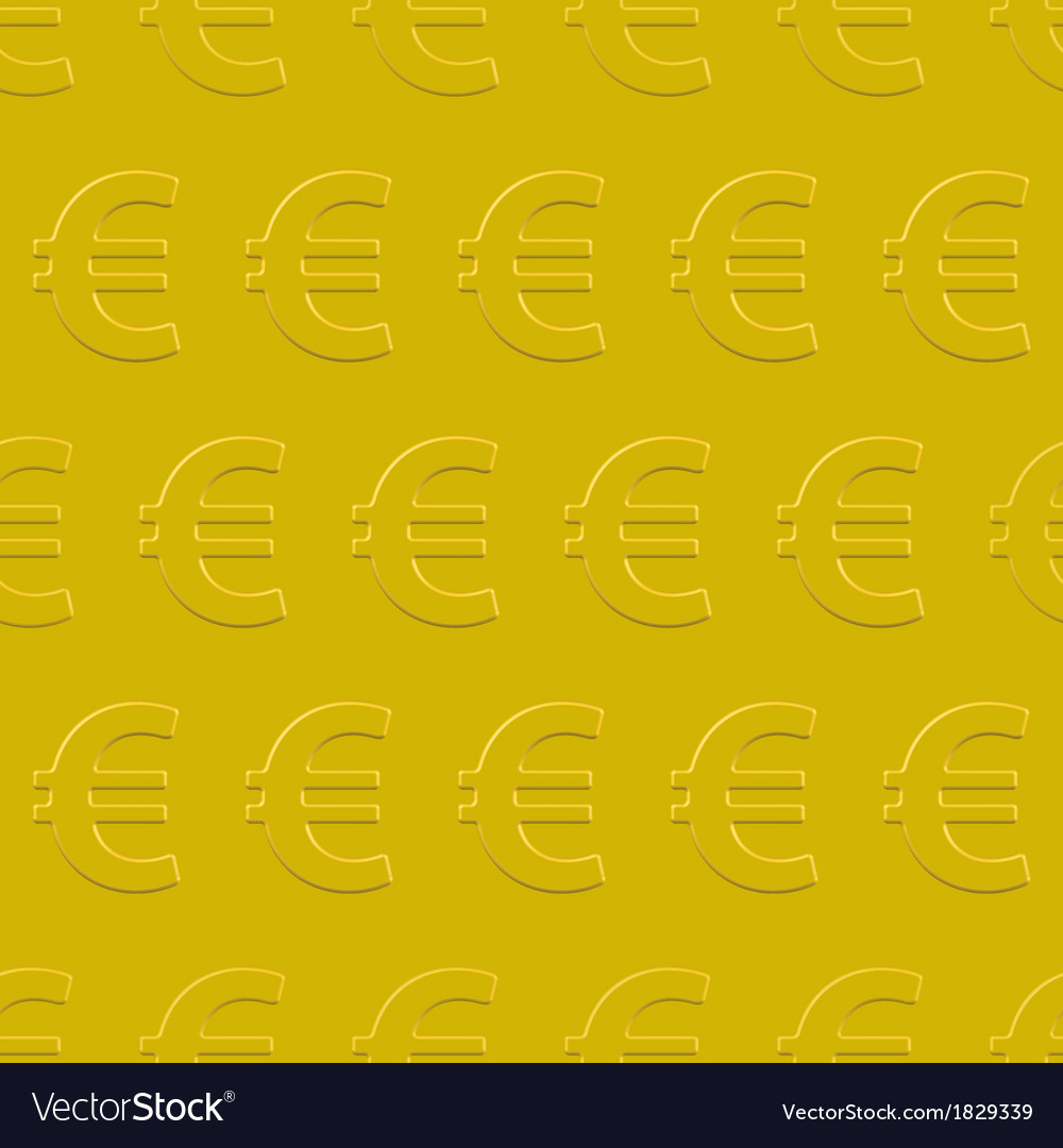Euro pattern vector | Price: 1 Credit (USD $1)
