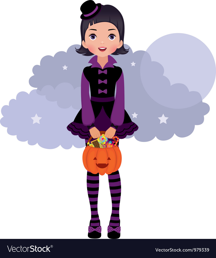Gothic lolita halloween vector | Price: 3 Credit (USD $3)