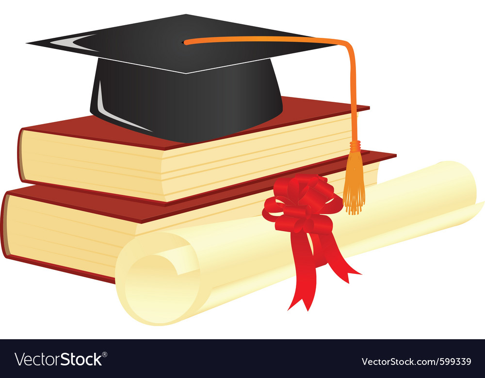 Graduation mortar vector | Price: 3 Credit (USD $3)