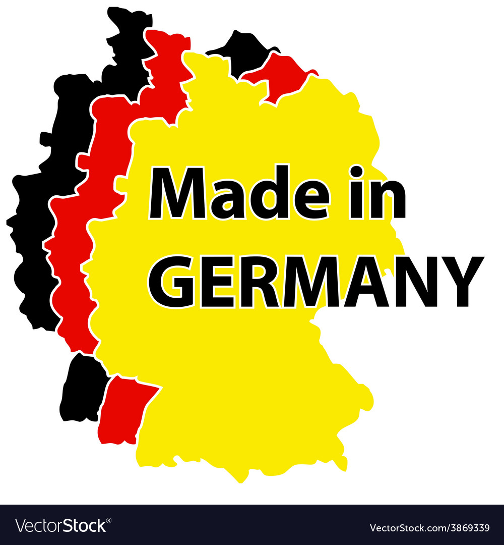 Made in germany label vector | Price: 1 Credit (USD $1)