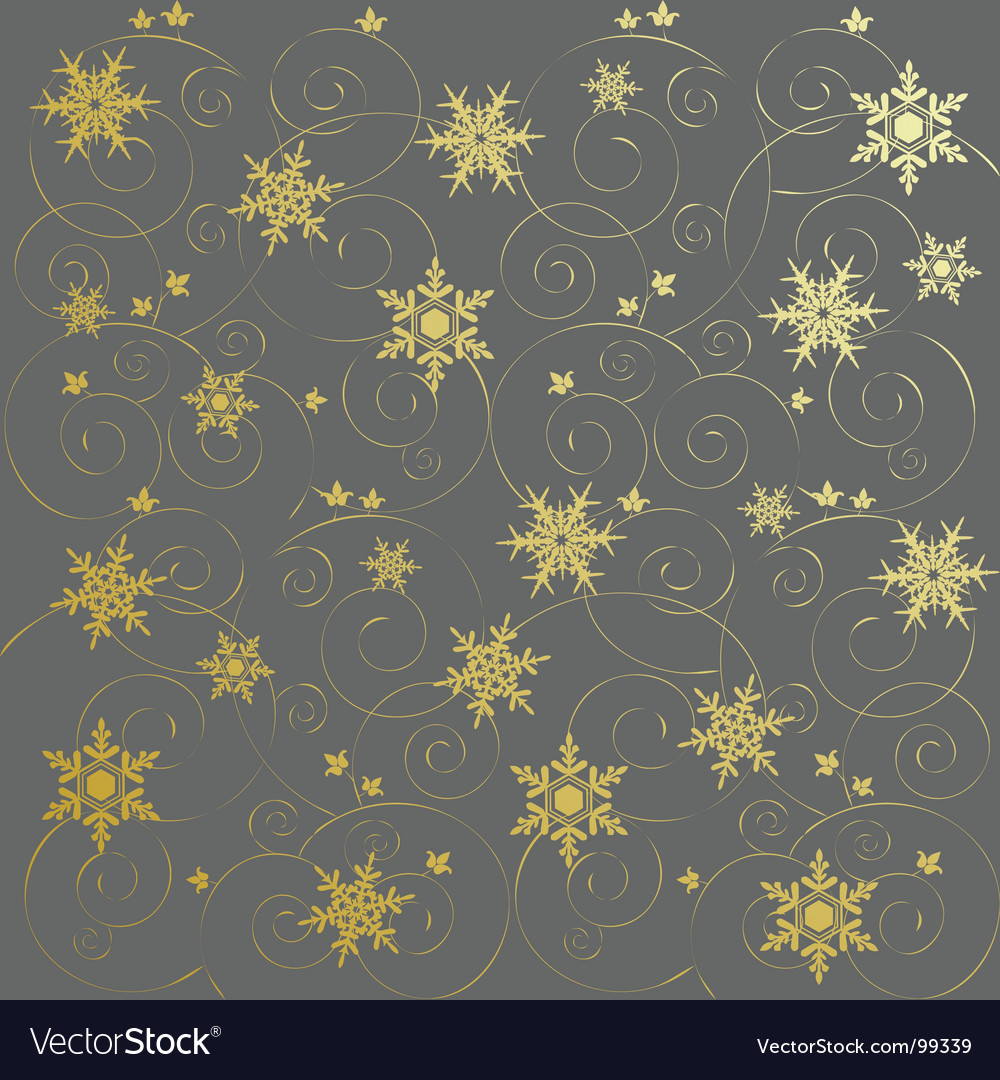 Winter background snowflakes illust vector | Price: 1 Credit (USD $1)