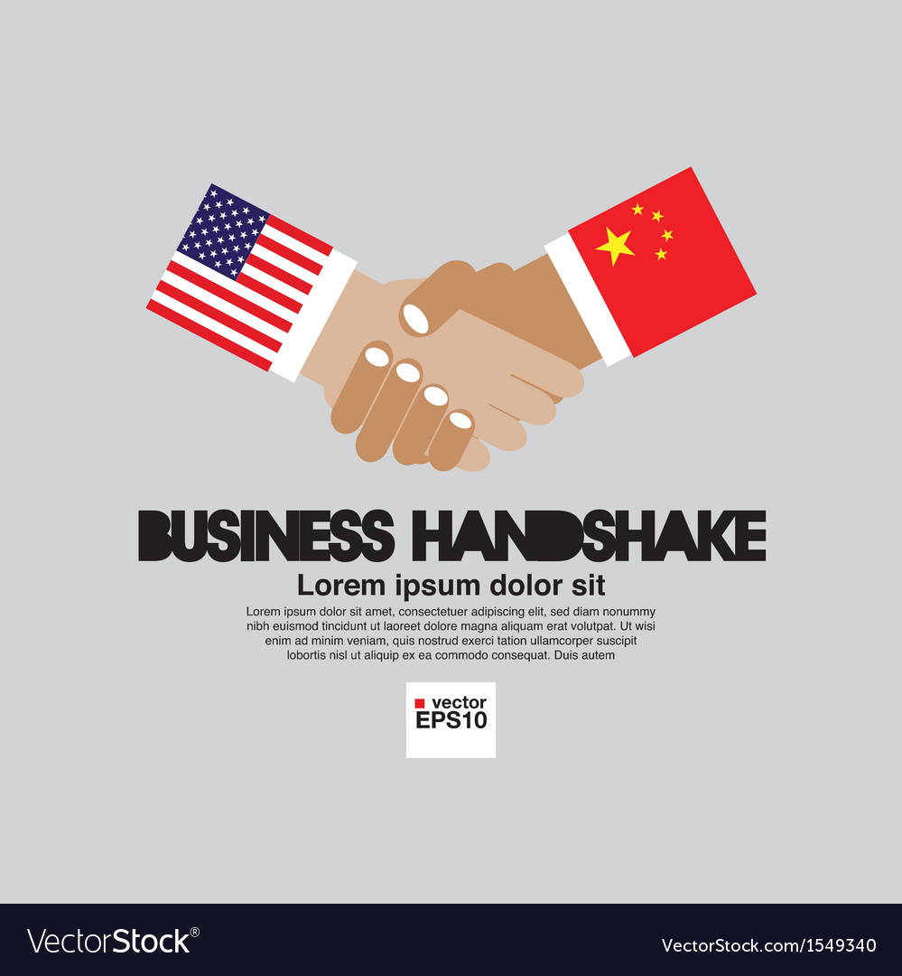 Business handshake eps10 vector | Price: 1 Credit (USD $1)
