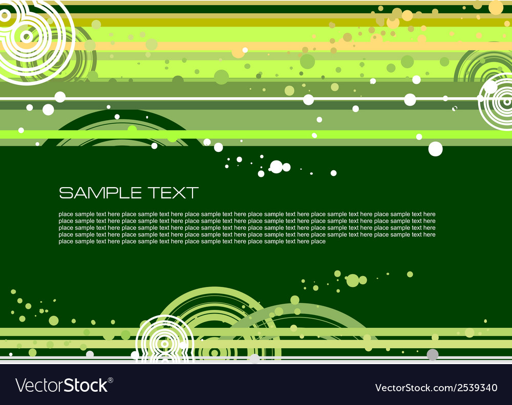 Doted green background vector | Price: 1 Credit (USD $1)