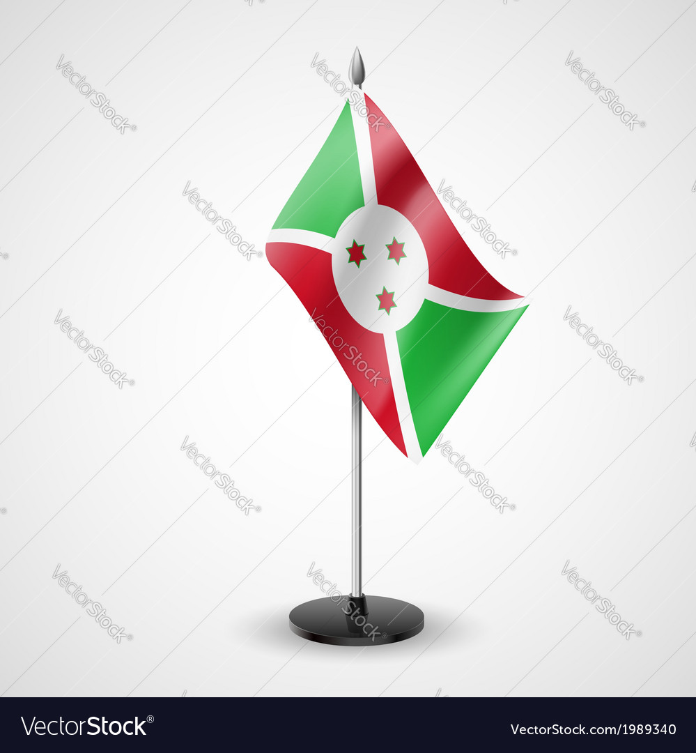 Table flag of burundi vector | Price: 1 Credit (USD $1)