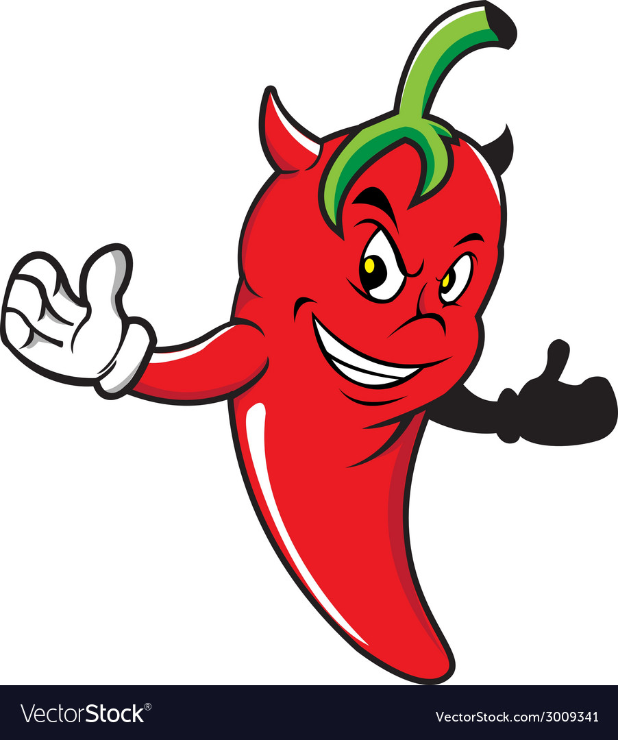 Red-chili-devil vector | Price: 1 Credit (USD $1)