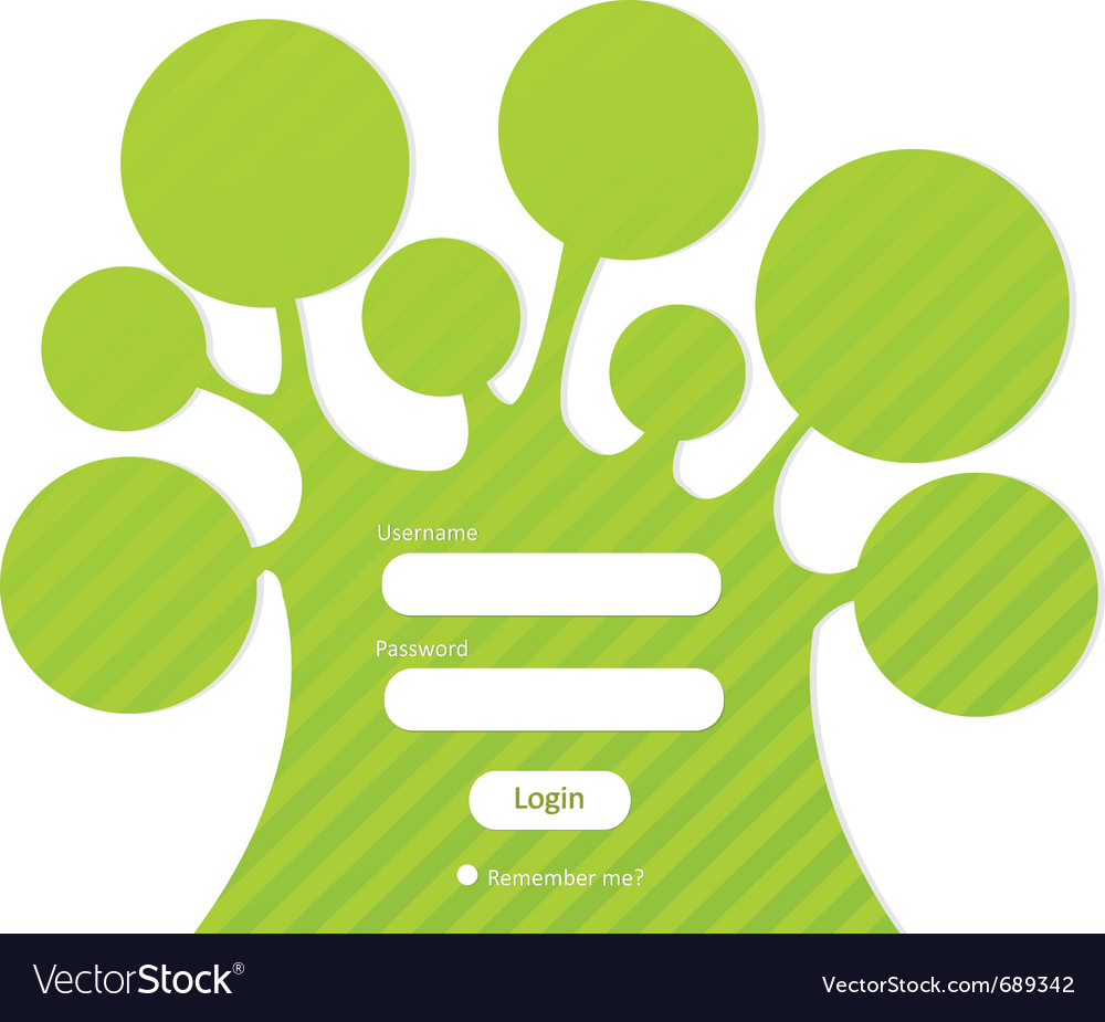 Login password vector | Price: 1 Credit (USD $1)