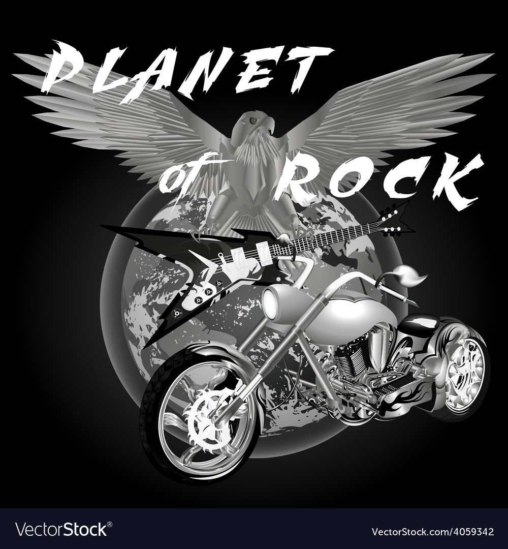 Planet of rock vector | Price: 3 Credit (USD $3)