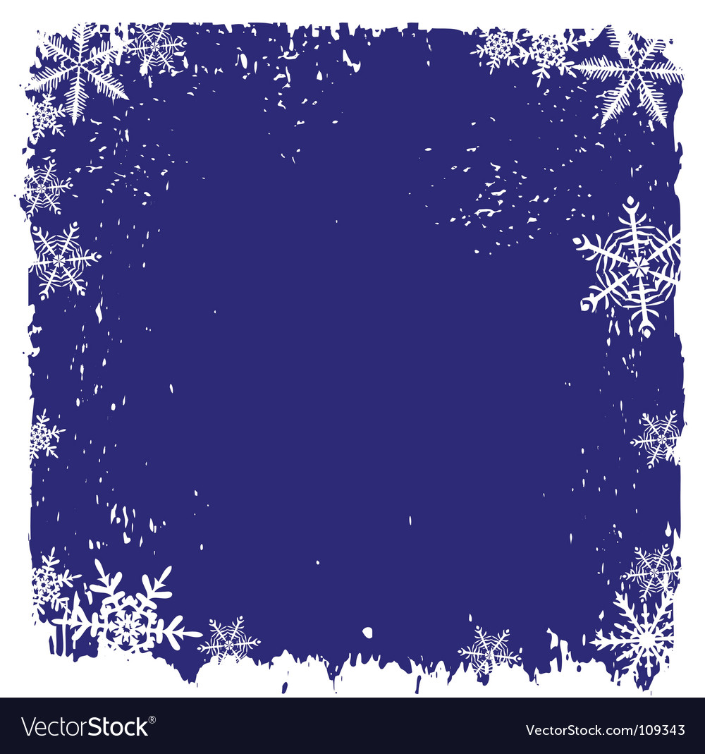 Winter background snowflakes vector | Price: 1 Credit (USD $1)