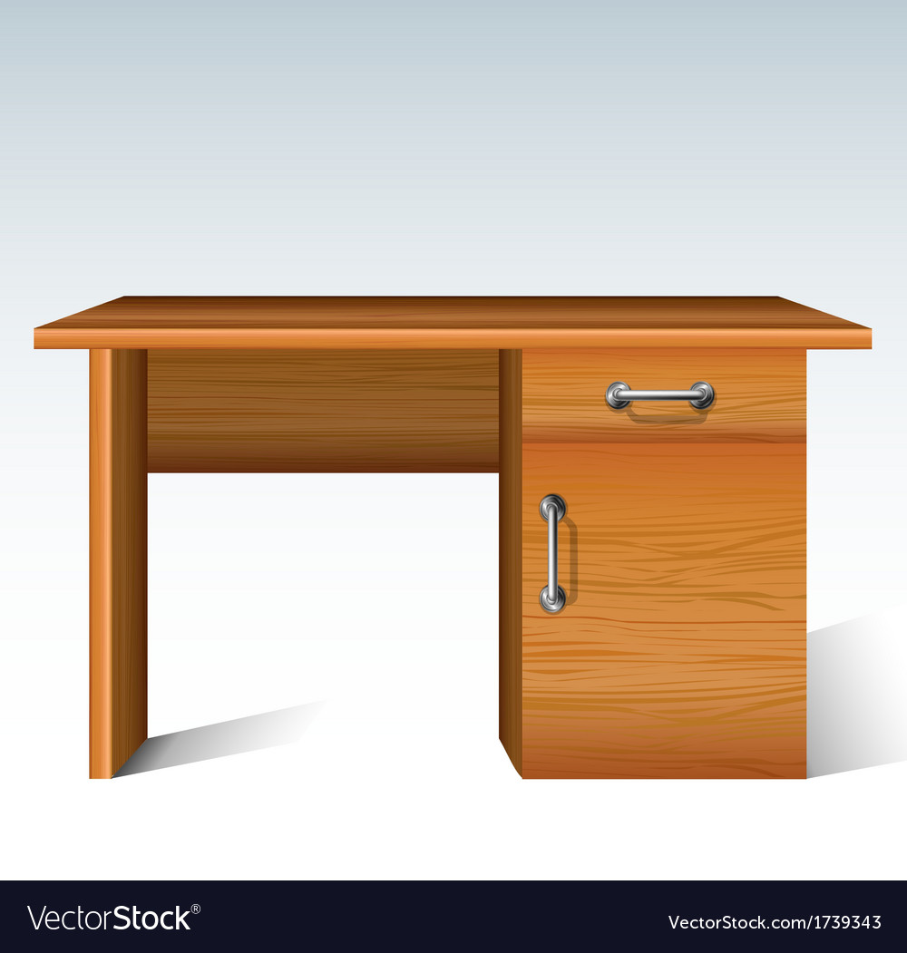 Wood desk vector | Price: 1 Credit (USD $1)