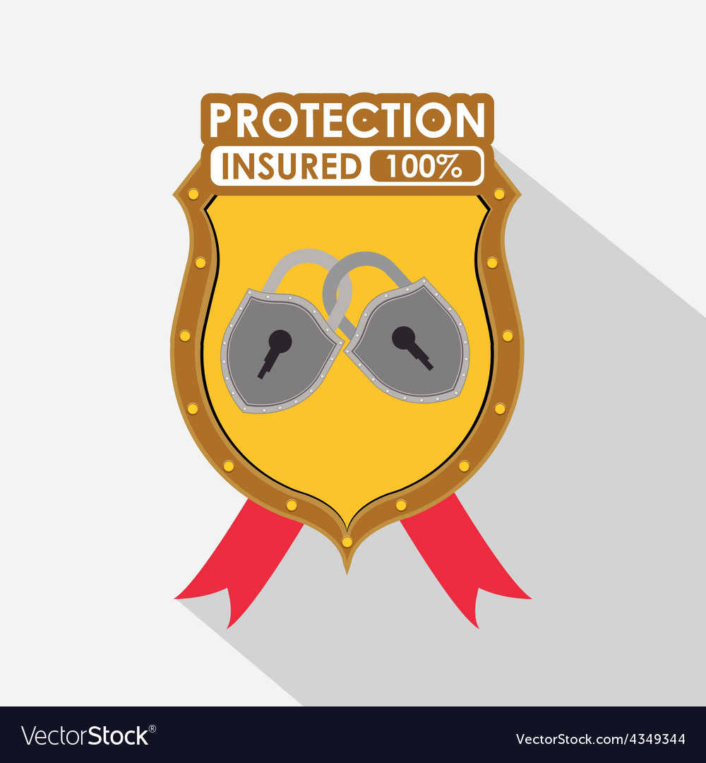 Protection system vector | Price: 1 Credit (USD $1)