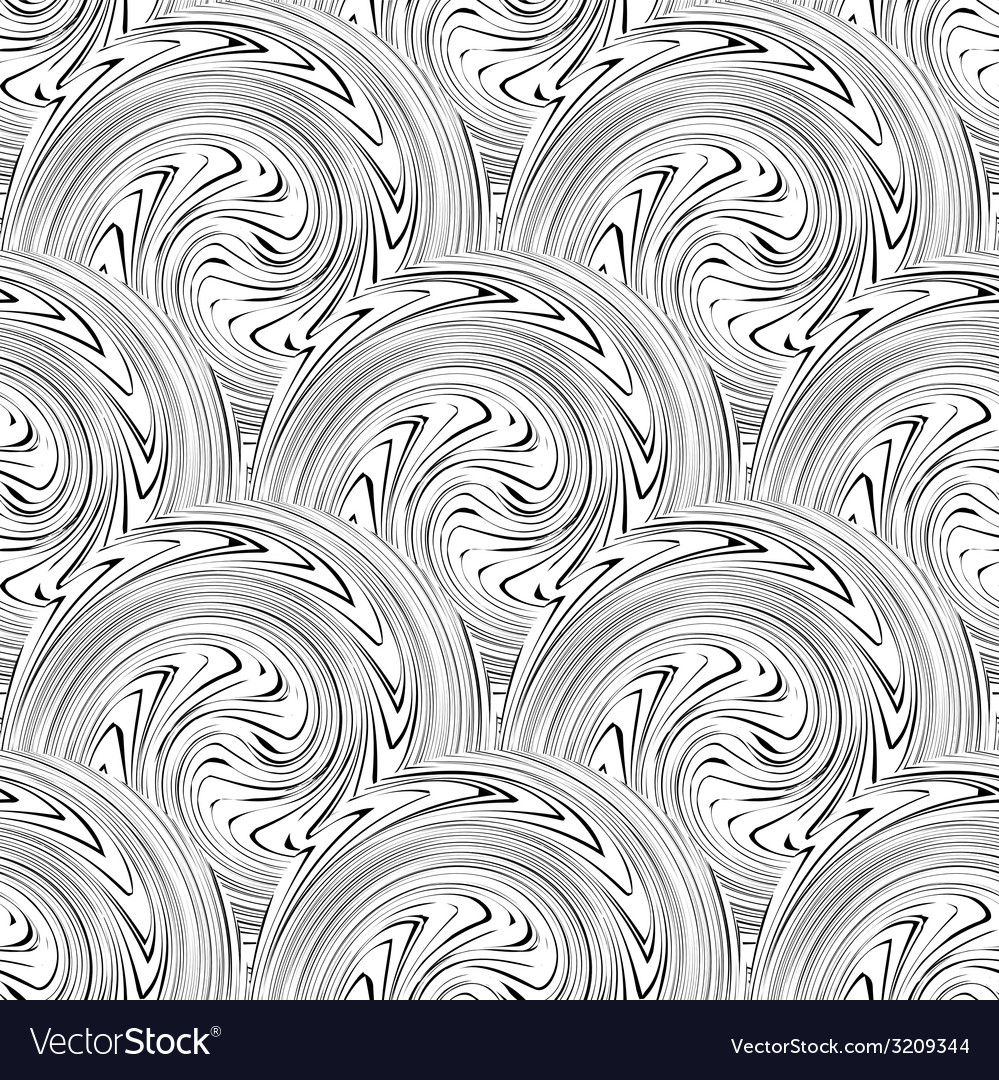 Swirl seamless background vector | Price: 1 Credit (USD $1)
