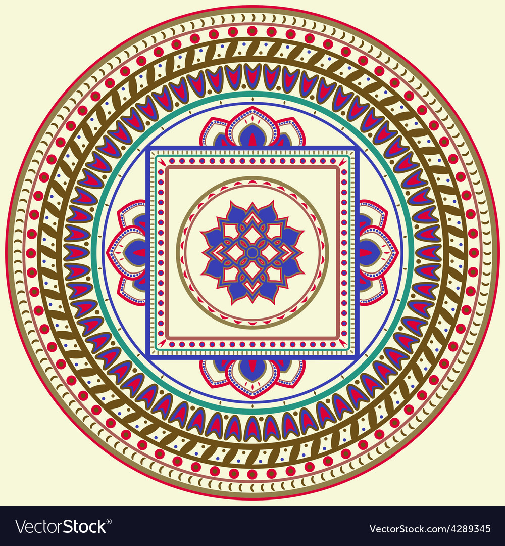 Mandala vector | Price: 1 Credit (USD $1)