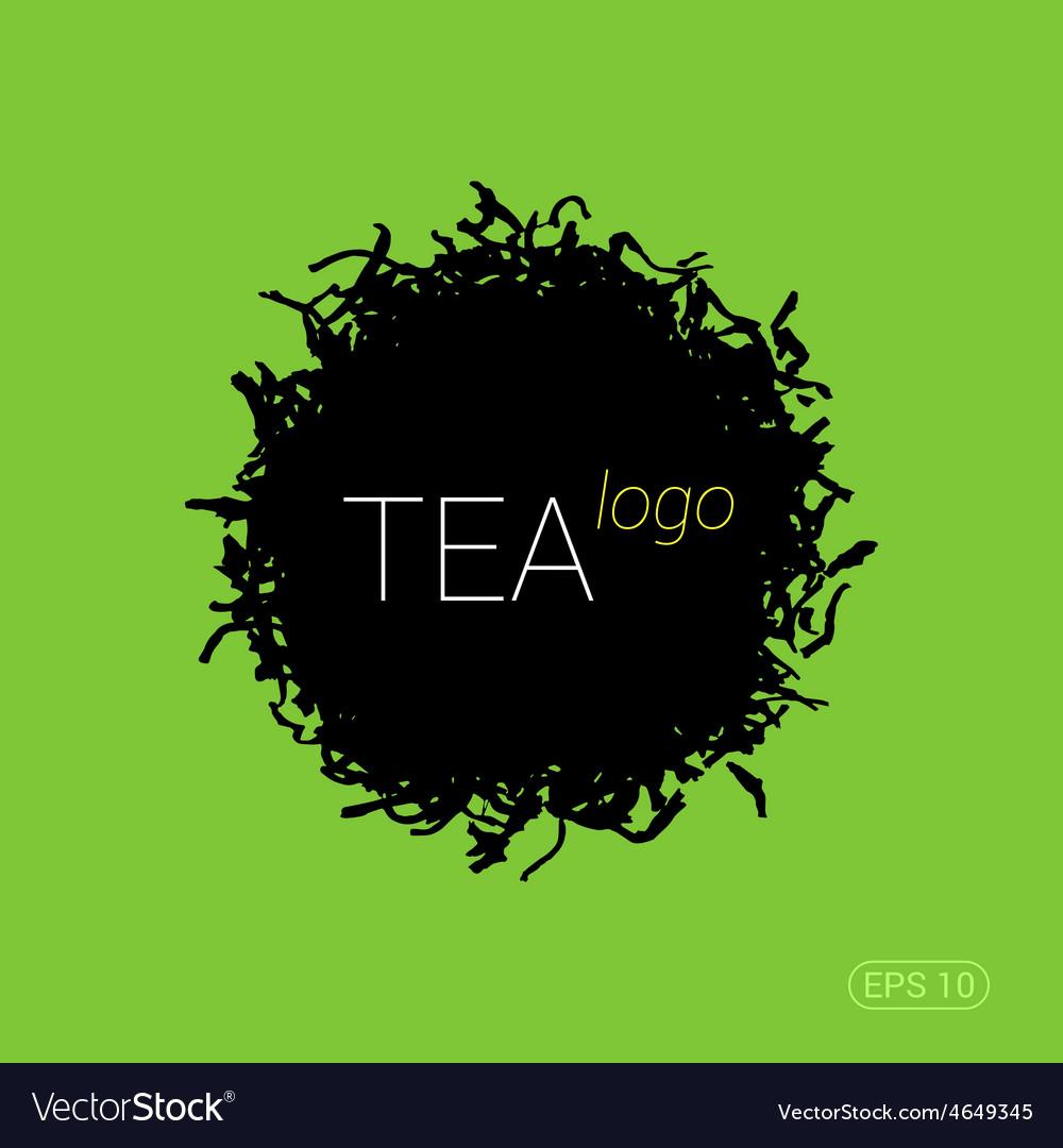Modern logo for tea shop teahouse or company vector | Price: 1 Credit (USD $1)