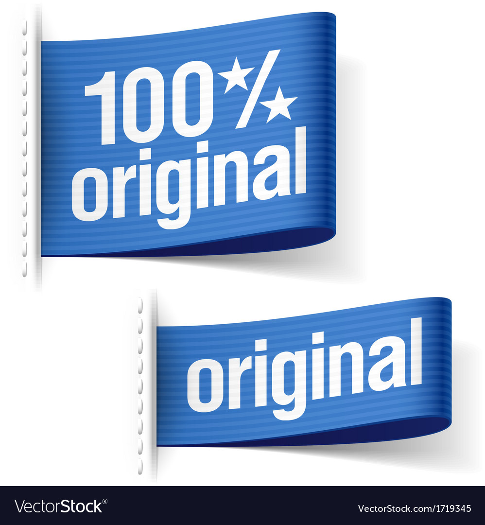Original product labels vector | Price: 1 Credit (USD $1)