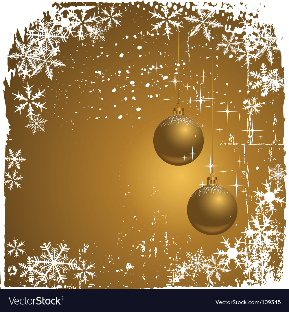 Winter background with snowflakes il vector | Price: 1 Credit (USD $1)