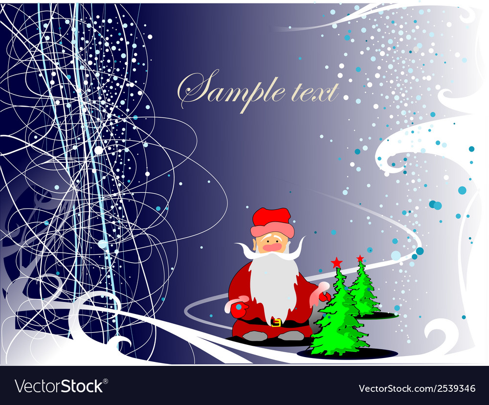 0211chrismas greeting card vector | Price: 1 Credit (USD $1)