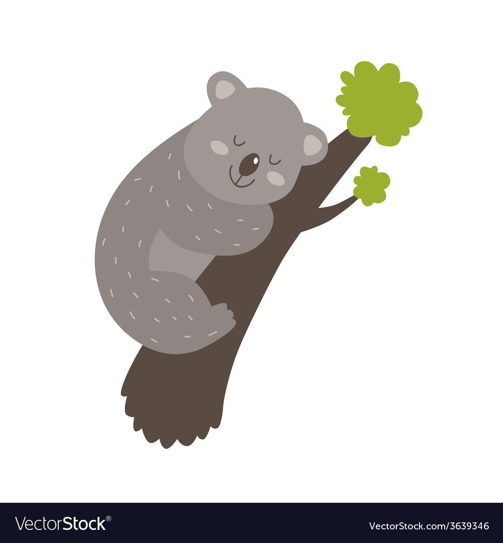 Cute koala vector | Price: 1 Credit (USD $1)