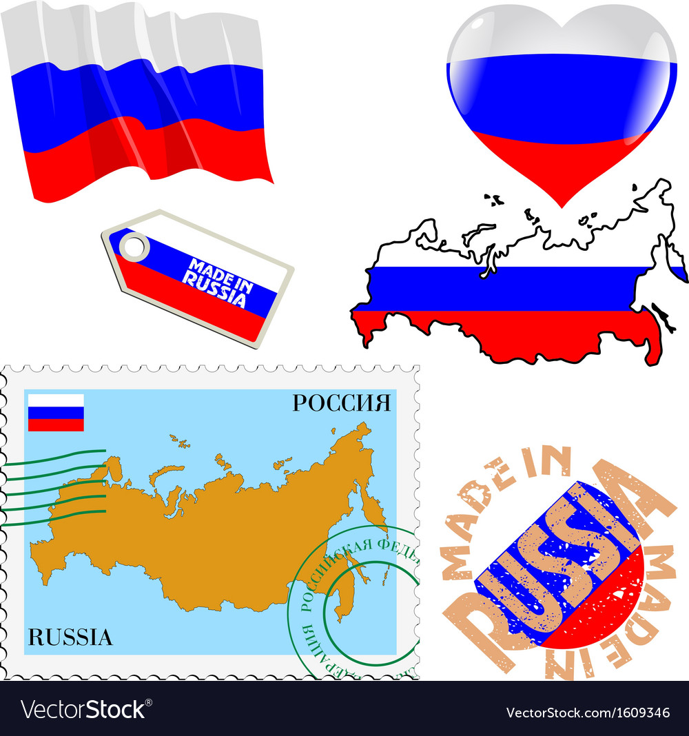 National colours of russia vector | Price: 1 Credit (USD $1)
