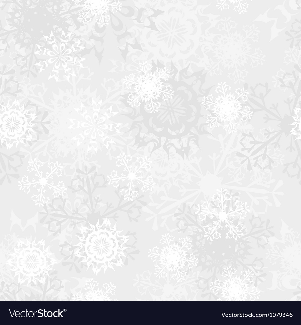 Seamless snowflake pattern vector | Price: 1 Credit (USD $1)