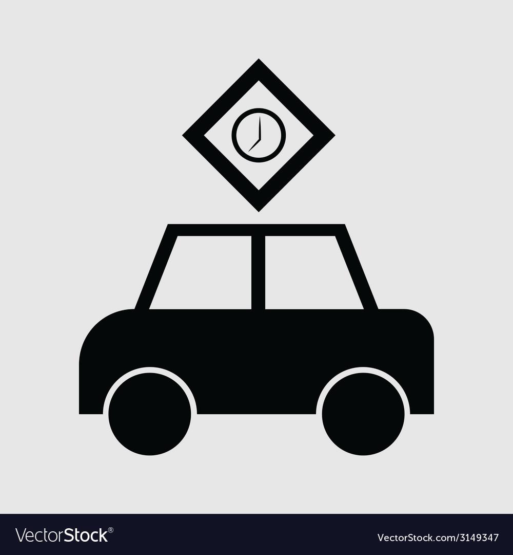 Passenger car icon vector   Price: 1 Credit (USD $1)