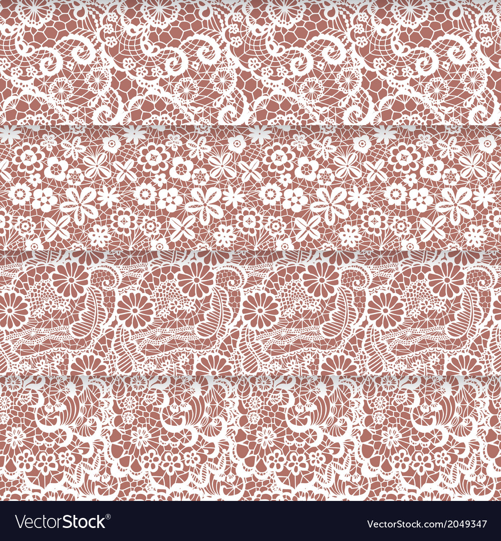 Set of lacy patterns vector   Price: 1 Credit (USD $1)