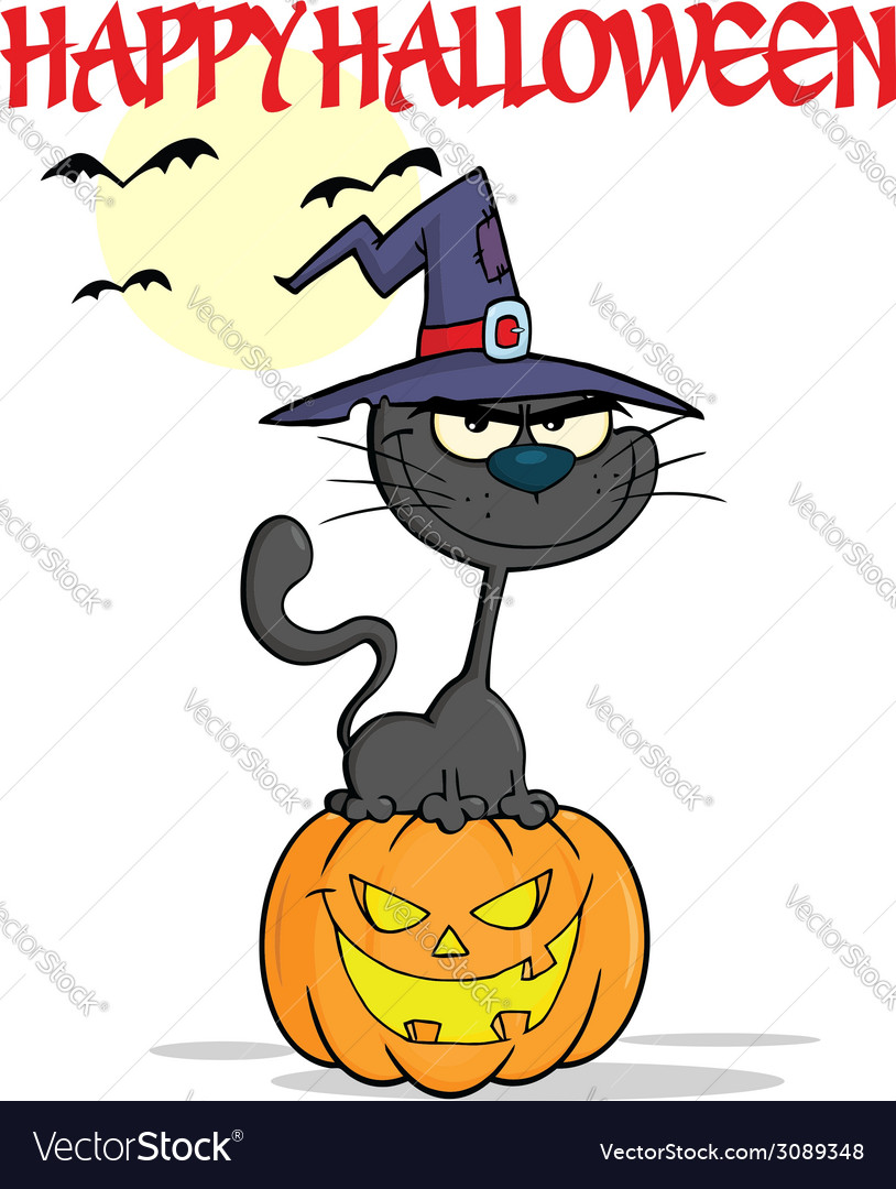Cartoon pumpkin vector | Price: 1 Credit (USD $1)
