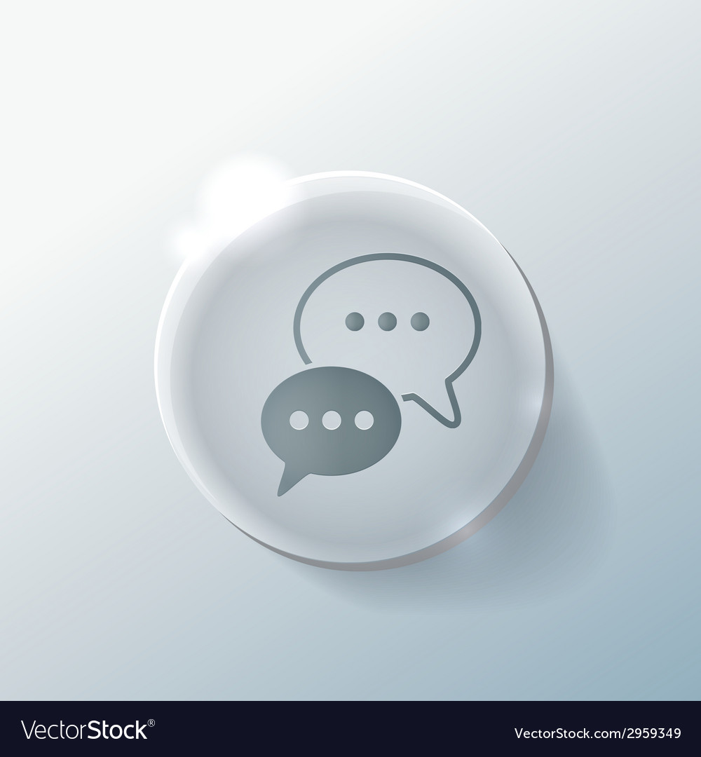 Cloud of speaking dialogue vector   Price: 1 Credit (USD $1)