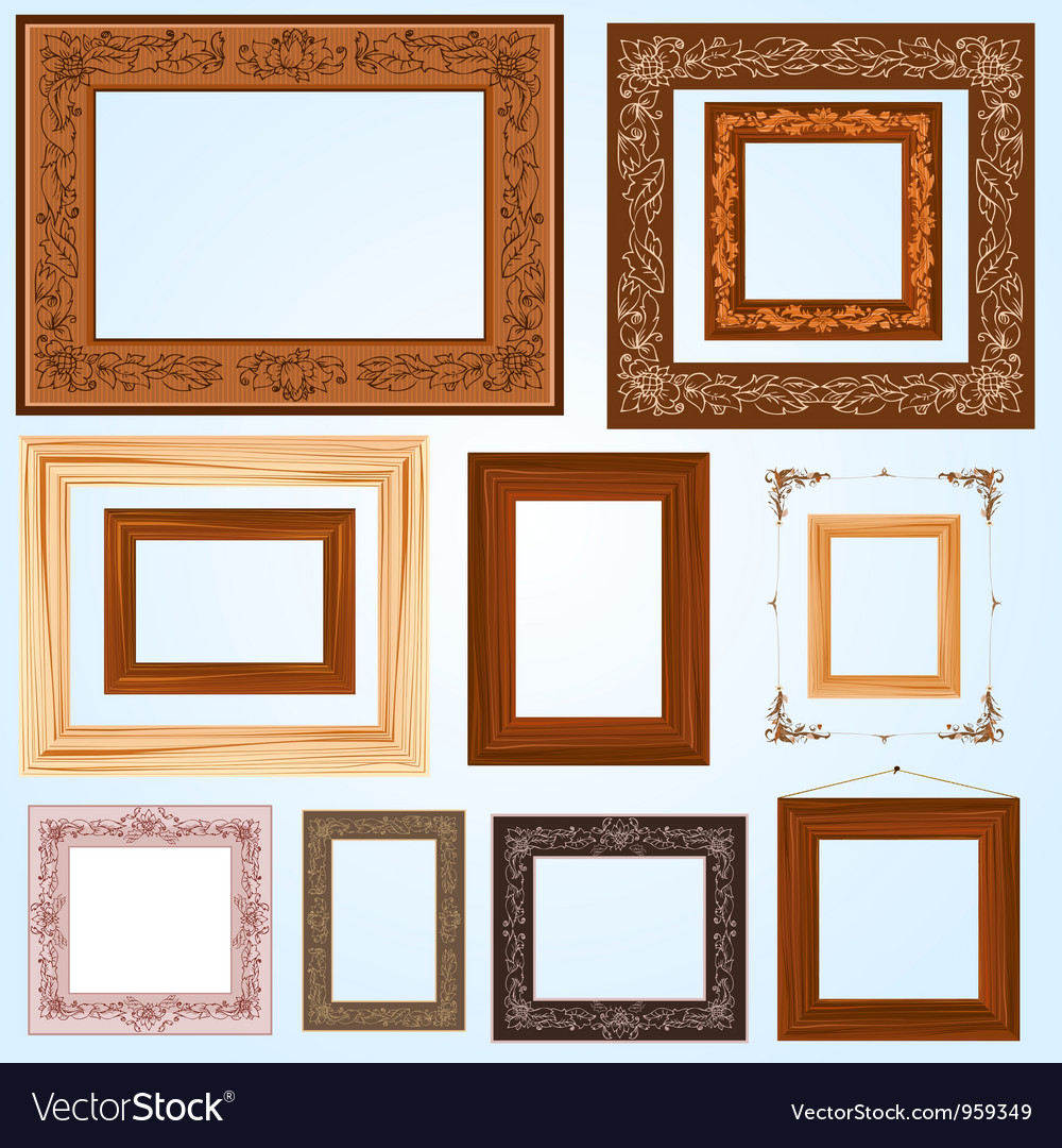 Handmade frame set3 vector | Price: 1 Credit (USD $1)