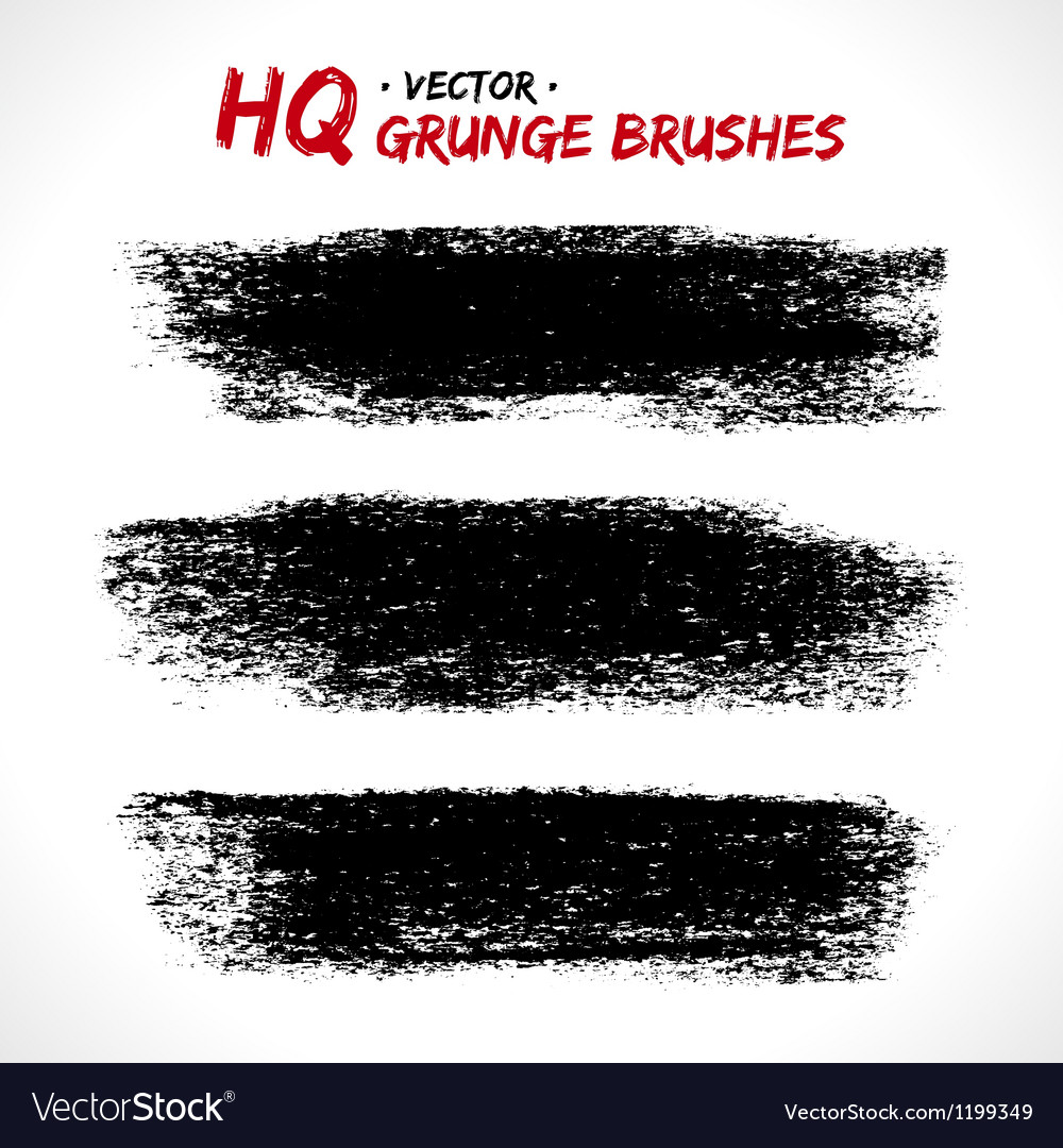 Set of grunge banners vector | Price: 1 Credit (USD $1)