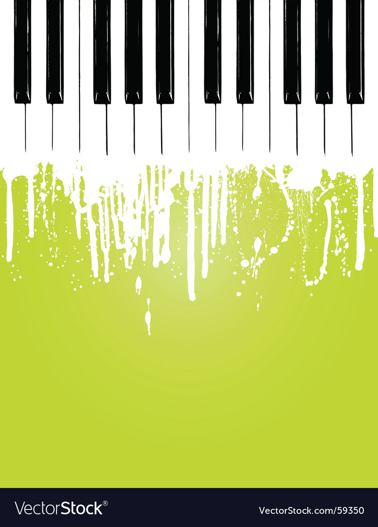 Piano flow vector | Price: 1 Credit (USD $1)