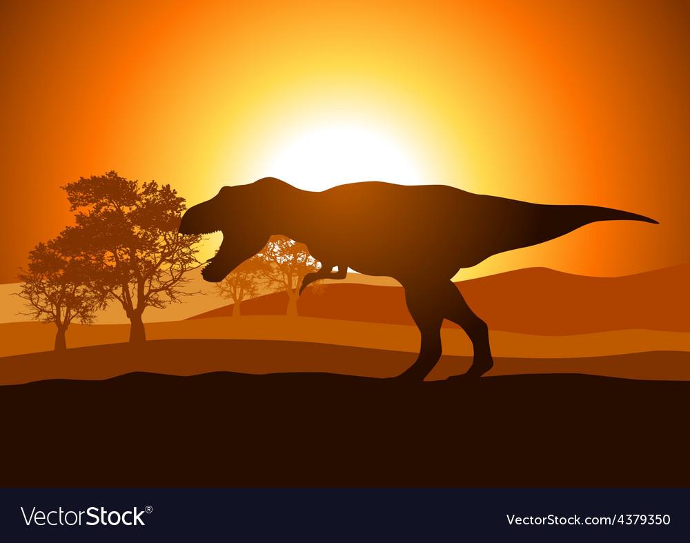 Tyrannosaurus rex vector   Price: 1 Credit (USD $1)